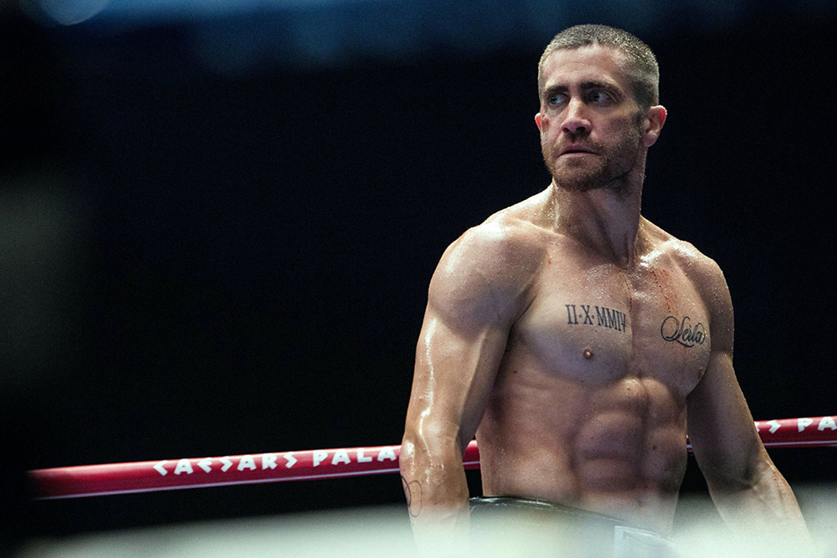 Jake gyllenhaal ripped boxer southpaw